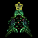 Christmas Tree Fractal by ilinamorato