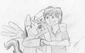 RD and Me by LoosePopcorn
