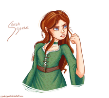 Tough Sansa by LizbethLizard
