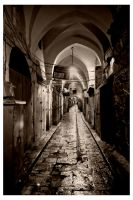 Old Jerusalem at Night by Br3ach