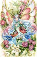 Flower Fairy by Kutty-Sark