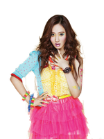 SNSD Yuri Kiss Me Baby-G Casio ~PNG~ by JaslynKpopPngs