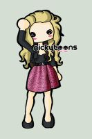 Avril Lavigne Abbey Dawn Dress by NickyToons