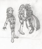 ROR Concept Art: Starfire by 26LordPain