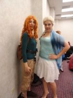 AStL14: Modern Merida and Elsa by Soraply11