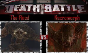 The Flood vs Necromorph by SonicPal