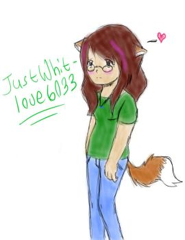 my OC drawn on tablet by JUSTWHIT-LOVE6033