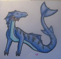 Water Dragon (Contest) by Crazy4Dragons