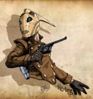 The Rocketeer by LloydBridgemanInk