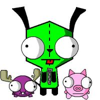 Gir Pig and Mini Moose by SSbRoXaS