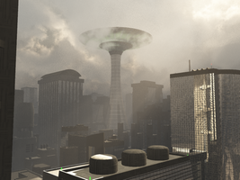 City's Control-Tower by The---Virus