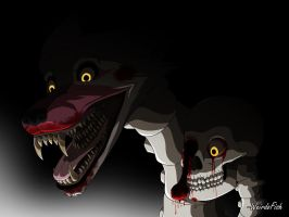 Not-quite-so-realistic Mangle by WeirdoFish