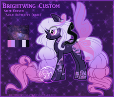 .:B:CUSTOM:Galactic Butterfly:. by CocoamintWhimsy