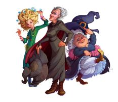 Witches of Discworld by RusVixen