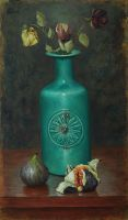 Turquoise vase by marcheba