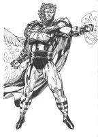 Master of magnetism: Magneto by GuessStar