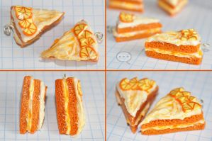 clay orange cake by cihutka123