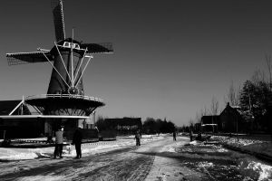 Ice skating in holland 4 by CiindyCore