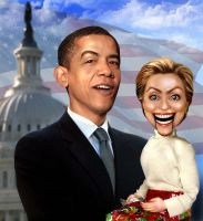Obama's puppet by funkwood
