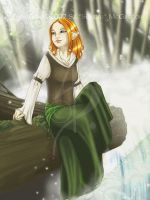 Lady by the Water by Sundri