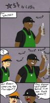 Starbucks by LilBre