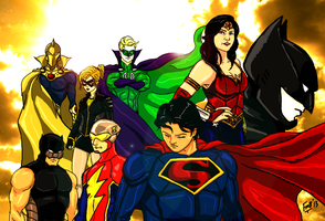 Secret Identity:JSA by kyomusha