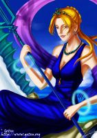 Golden Sun Summons - Nereid by Getsuart