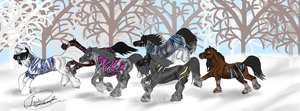 Hototo Herd :D by ShapeShifter314