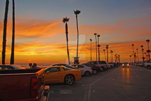 Newport Sunset 1 by catilakbluez