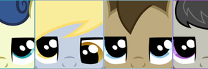 Grumpy Ponies - Secondary Six (Avatars) by Foxy-Noxy