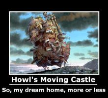 Howl's Moving Castle Poster by will-o-the-wispy