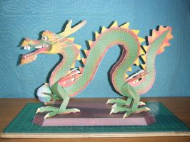 Chinese Luck Dragon Statue 16 by devastator006