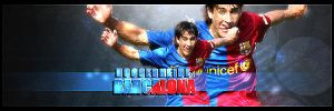 Barcalona soccer signature by DisCal