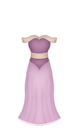Mauve Ball Gown by MarreThurston
