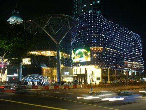 Ion Orchard at night by dreamz13