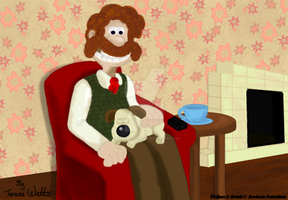 Wallace And Gromit - A Man And His Dog by AnimationFanatic