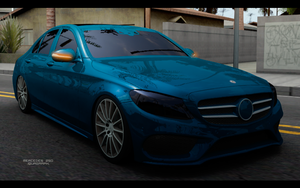 Mercedes250 by iQua