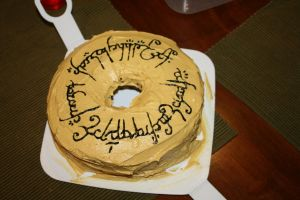 A Cake, a la Lord of the Rings by Meeeaty
