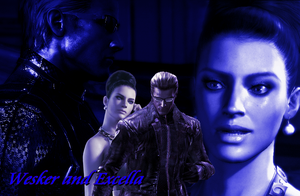 Wesker and Excella 11 by AlbertXExcellaLover