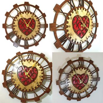 Legend of Zelda Heart Container Clock by Athey
