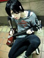 Marshall Lee  Adventure Time best cosplay EVER!!! by MisstressPoison