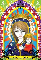 Virgin Mary 4 by lajuls