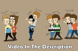All Dem Youtubers by ikriam