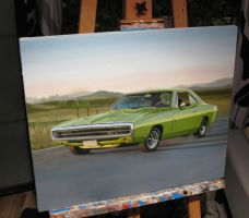 Dodge charger WIP X by Regius