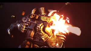 Partical Test (Iron Space Marine) by Sir-Ethin