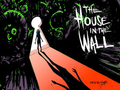 The House in the Wall CHP2 Cover by Erykkr