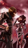 Mass Effect: First Contact by Dunnstar