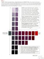 Color Theory-Primary Color Palette Red by SilverSpectrum23
