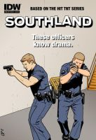 SouthLAnd: The Comic by pjperez