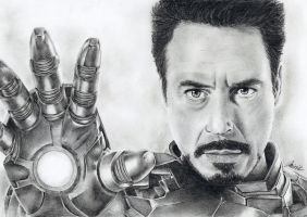 Iron Man by MirieSolem
